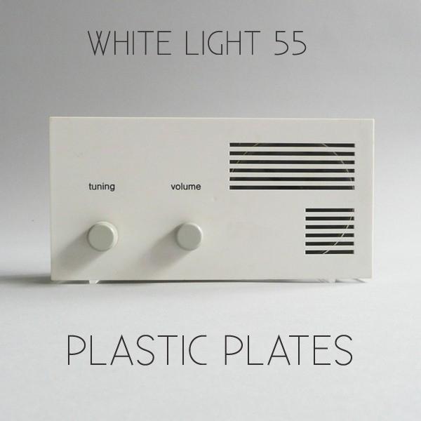 White Light 55 - Plastic Plates